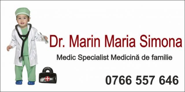 CMI Dr. Marin Maria Simona