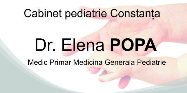 Dr. Popa Elena – Cabinet pediatrie