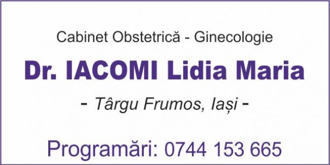 Dr. Iacomi Lidia Maria – Cabinet Obstetrică Ginecologie