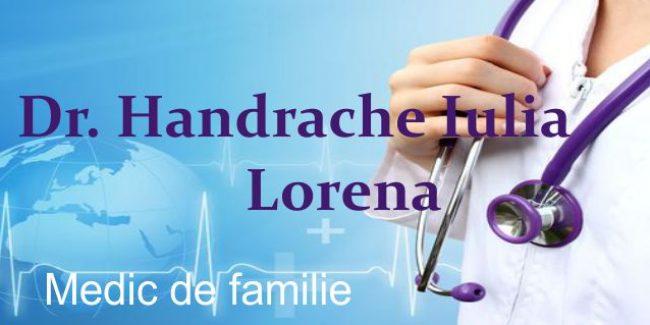 Dr. Handrache Iulia Lorena – Medic de Familie