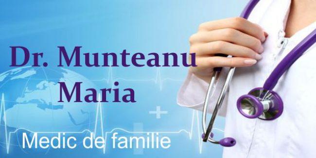 Dr. Munteanu Maria – Medic Primar Medicină de Familie