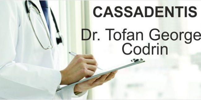 Dr TOFAN GEORGE CODRIN – Medicină Dentară CASSADENTIS