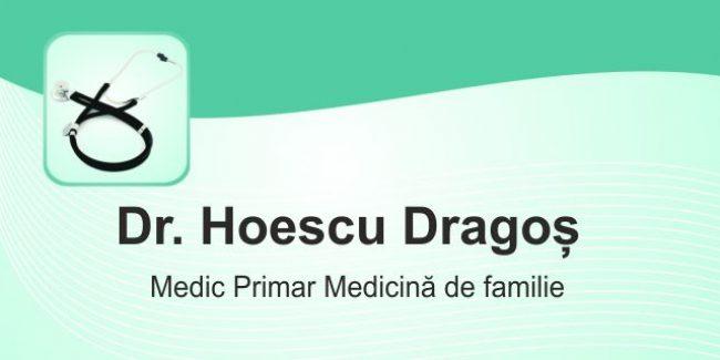 Dr. Hoescu Dragoș – Medic Primar Medicină de Familie