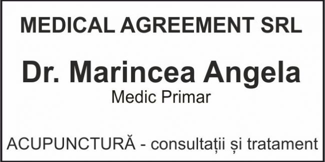 Medical Agreement – Dr. Marincea Angela