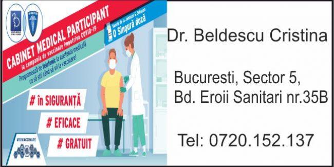 Dr. Beldescu Cristina – Medicina de Familie