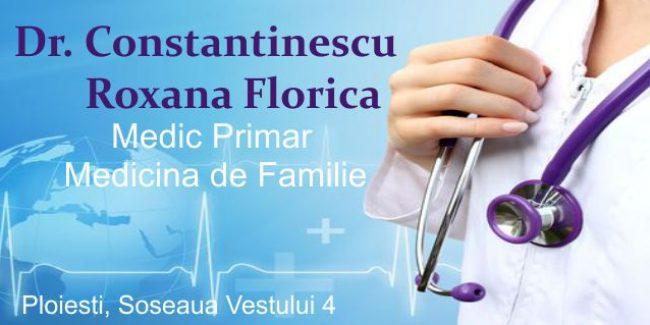 Dr. Constantinescu Roxana Florica – Medicină de Familie