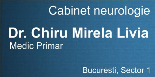 Dr Chiru Mirela-Cabinet neurologie