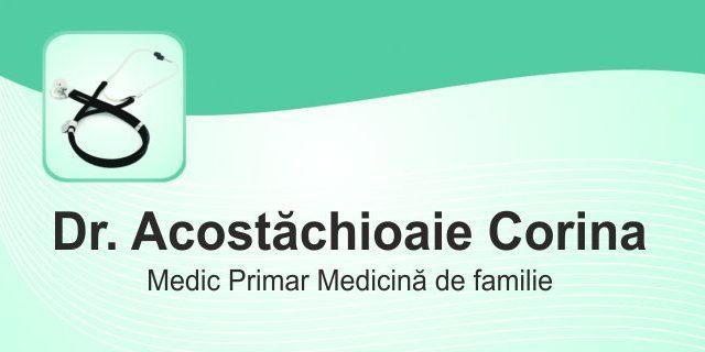 Dr. Acostăchioaie Corina – Medicină de Familie