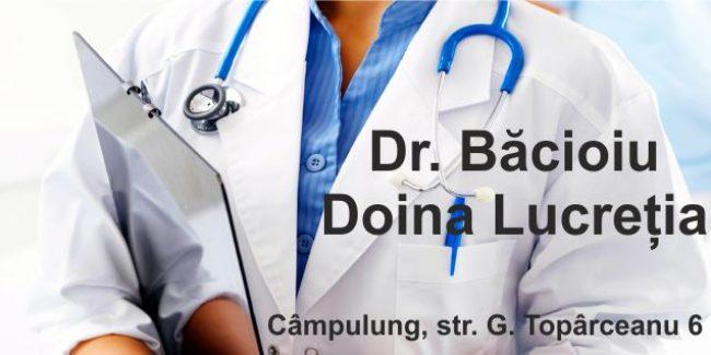 Dr. BĂCIOIU DOINA – Medicină de Familie