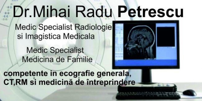 Dr. Mihai Radu Petrescu-Radiologie