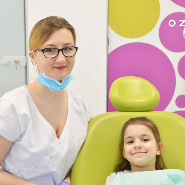 Prima vizită la stomatolog a copilului | OZONO
